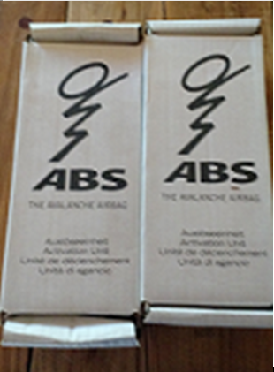 045 abs avalanche airbag 2 unid